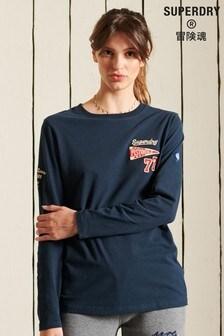 Superdry Collegiate Long Sleeved Top