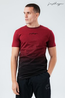 Hype. Red Speckle Fade T-Shirt