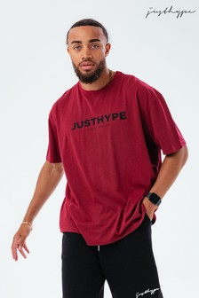 Hype. Red Oversized JH Vintage T-Shirt