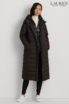 Lauren Ralph Lauren Black Maxi Jacket