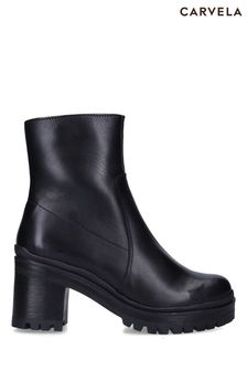 Carvela Comfort Black Secure Ankle Boots