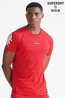 Superdry Red Sport Train Core T-Shirt