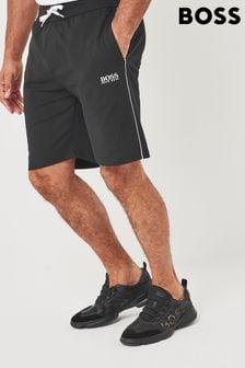 BOSS Black Tracksuit Shorts