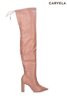 Carvela Natural Second Skin Ankle Boots