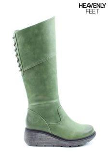 Heavenly Feet Green Feet Ladies Tall Boot Style Ohio