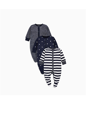 Shop Boy's Sleepsuits Now