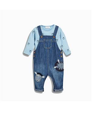 Shop Boy's Dungarees Now